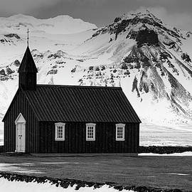 Michael Blanchette - Church at Budir - B/W