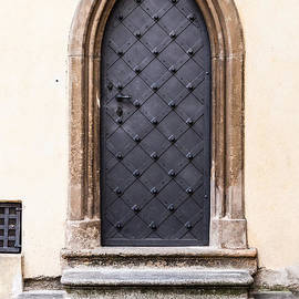 Church Door Prague by Thomas Marchessault