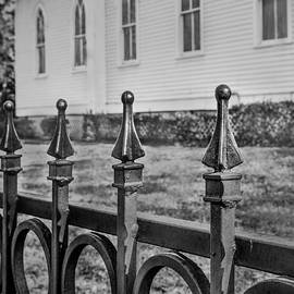 Church Fence by James Woody