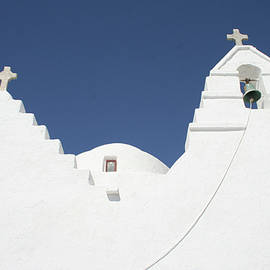 Yesim Tetik - Church in Santorini