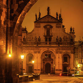 Jenny Rainbow - Church of St. Salvador. Prague. Golden