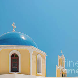 Antony McAulay - Church on Santorini
