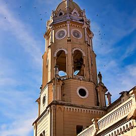 Church Tower Casco Viejo, Panama City by Tatiana Travelways