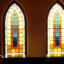 Church Windows by Arlane Crump