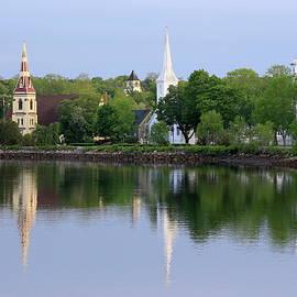 Gary Corbett - Churches, Mahone Bay, Nova Scotia