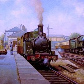Churston station 1956. - Mike Jeffries