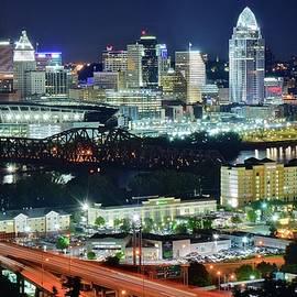 Skyline Photos of America - Cincinnati from Above