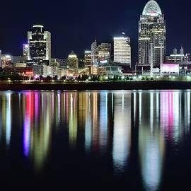 Frozen in Time Fine Art Photography - Cincinnati Late Night Lights