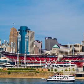 Cincinnati Riverfront by Stephen Whalen