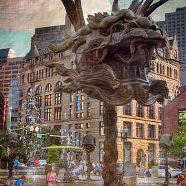 Joann Vitali - Circle of Animals/Zodiac Heads - Boston