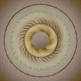 Circular ABastract Art 5 by Eleanor Bortnick
