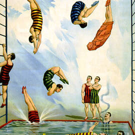 Circus Diving Act, 1898 by Science Source