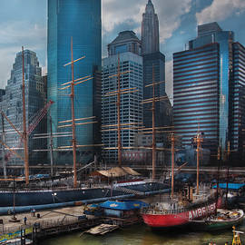 City - NY - The New City by Mike Savad