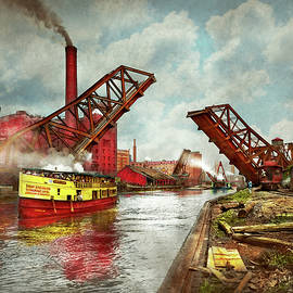 City - Chicago IL - See the sewers of Chicago 1900 by Mike Savad
