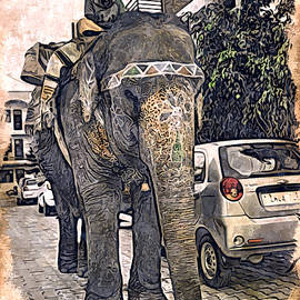Bliss Of Art - City Elephant