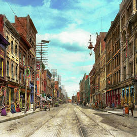 City - Knoxville TN - Gay Street 1903 by Mike Savad