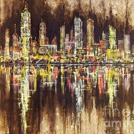 Paul Henderson - City Lights II