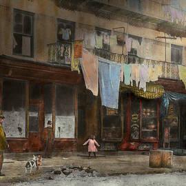 City - NY - Elegant Apartments - 1912 by Mike Savad