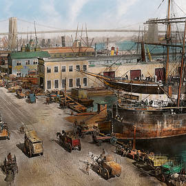 Mike Savad - City - NY - South Street Seaport - 1901
