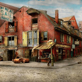 City - PA - Fish and Provisions 1898 by Mike Savad