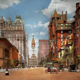 Mike Savad - City - PA Philadelphia - Broad Street 1905
