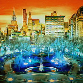Anthony Caruso -  City Scene