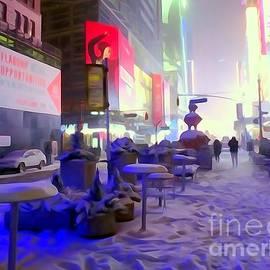 City Snowfall by Ed Weidman