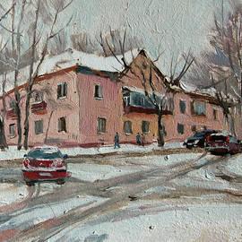 Sergey Avdeev - City streets. Tomsk