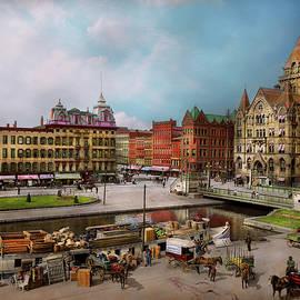 Mike Savad - City - Syracuse NY - The Clinton Square Canal 1905