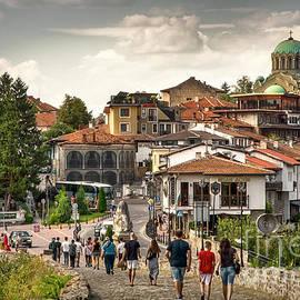 City - Veliko Tarnovo Bulgaria Europe by Daliana Pacuraru