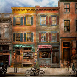 Mike Savad - City - Washington DC - Ghosts of the past 1925