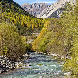 Paul MAURICE - Claree river - 1 - French Alps