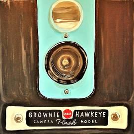 Classic Kodak Brownie Hawkeye Camera Larger Prints by Barbara Lee Donovan