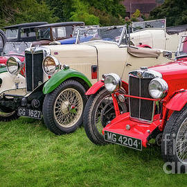 Classic MG Cars by Adrian Evans