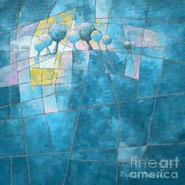 Beatrice BEDEUR - Clear blue figurative 088