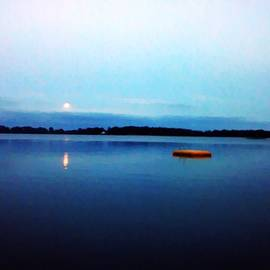 Clear Lake Twilight by Lisabeth Fauble