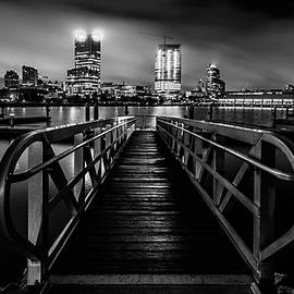 Randy Scherkenbach - Clearing Skies in Milwaukee Monochrome