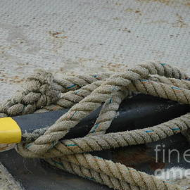 Cleat Hitch Knot on the Showboat Branson Belle by Kathy Carlson