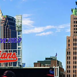 Gregory Ballos - Cleveland Indians Skyline Panorama