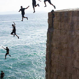 Cliff Diving by Nicola Nobile