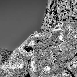 Cliffs at Bandelier #3 by Stuart Litoff