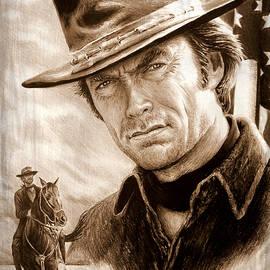 Andrew Read - Clint American Legend sepia