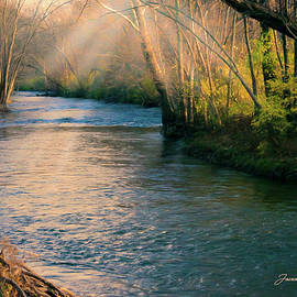 Joann Copeland-Paul - Clinton River Peaceful Waters