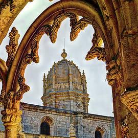 Robert Murray - Cloisters stonework, Jeronimos Monastery, Lisbon.