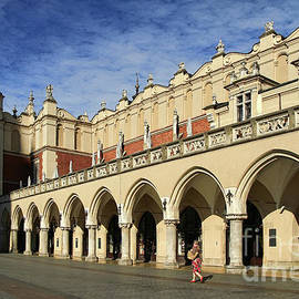 Cloth Hall In Cracow Poland by Teresa Zieba