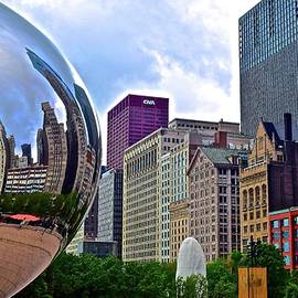 Cloud Gate Reflects the Windy City by Frozen in Time Fine Art Photography