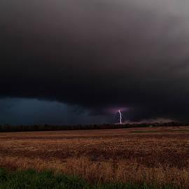 Cloud to ground Lightning by Tyler Schlitt
