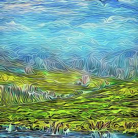 Joel Bruce Wallach - Clouds Above Golden Hills