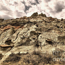 Clouds and Badlands by Jeff Swan