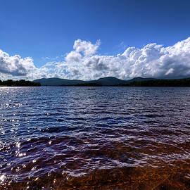 Clouds Over Blue Mountain Lake by David Patterson